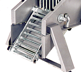 HERKULES Horizontalgitter-Set zu Schredder 4000 Profi