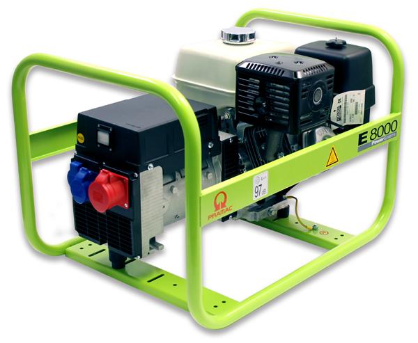 PRAMAC Stromerzeuger E8000 400V 50Hz Dreiphasig