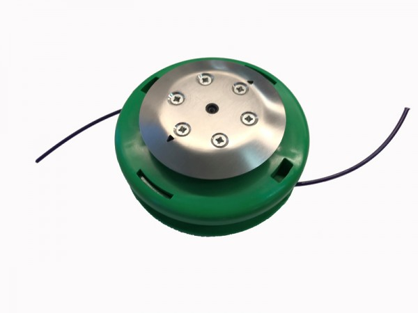 PROFI-INOX Fadenkopf Halbautomat mit Inoxteller Ø 9cm für Adapter