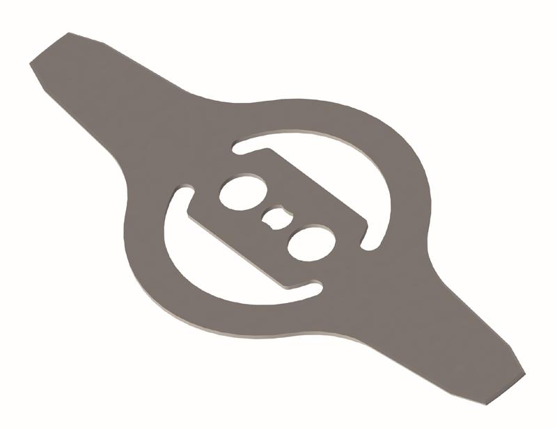 PELLENC Messer 2-Zahn Ø 25.5 cm