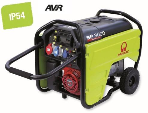 PRAMAC Stromerzeuger SP8000 400V 50Hz Dreiphasig