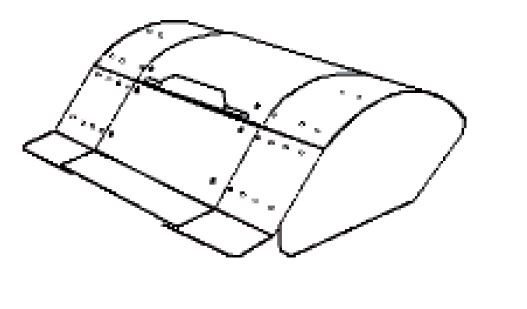 FORT Fraise 80cm pour VISION Transporteur de chenille (machine multi fonctions)