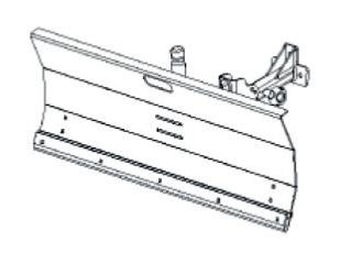 FORT Lame à neige 100cm pour F410 Minitransporteur