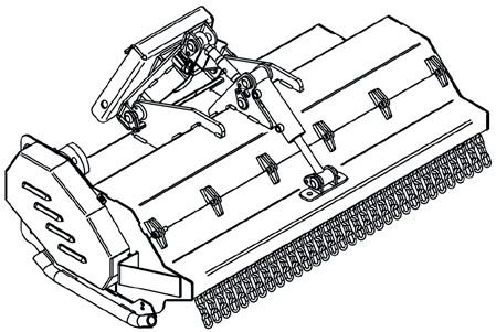 FORT Schlegelmäher hydraulisch 110cm zu MONOLITH