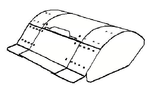 FORT Bodenfräse 60cm verstellbar 60/50/40cm zu Serie 280 Einachser