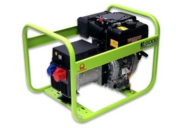 PRAMAC Stromerzeuger E6000 400/230V 50Hz Dreiphasig DIESEL