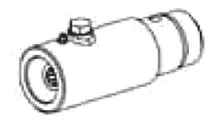 FORT Rallonge 8cm pour fraise 80cm pour VISION Transporteur de chenille (machine multi fonctions)