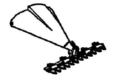 FORT Mähbalken ESM mulching 102cm zu Serie 280 Einachser